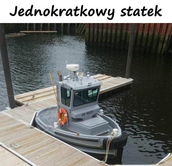 Jednokratkowy statek