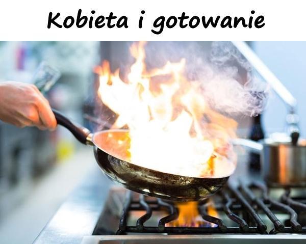 Kobieta i gotowanie