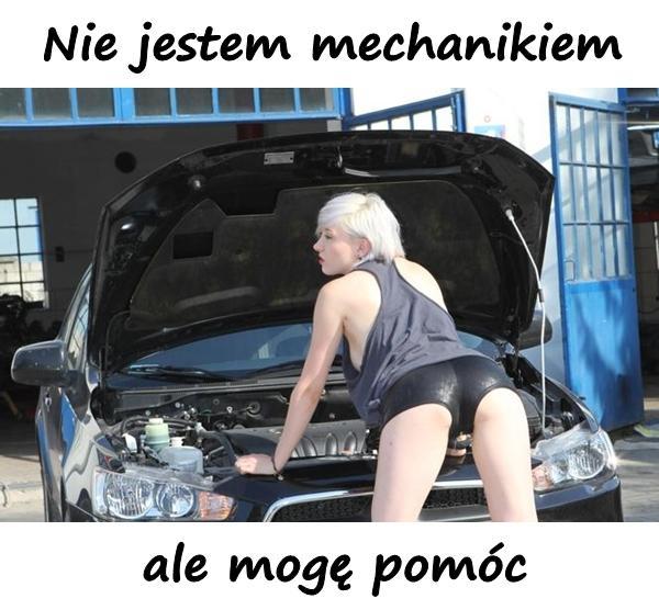 Nie jestem mechanikiem, ale mogę pomóc.