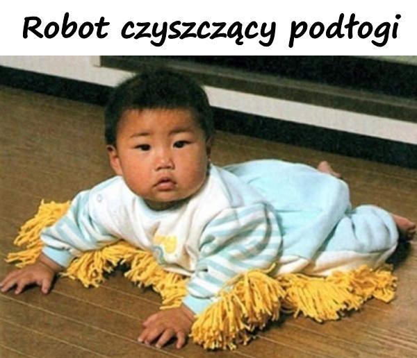 Robot czyszczący podłogi