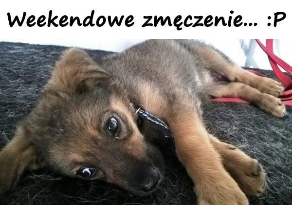 Weekendowe zmęczenie... :P