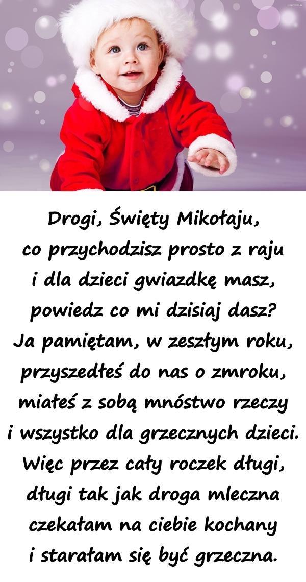 Wiersz Memy święty Mikołaj życzenia 6grudnia życzenia