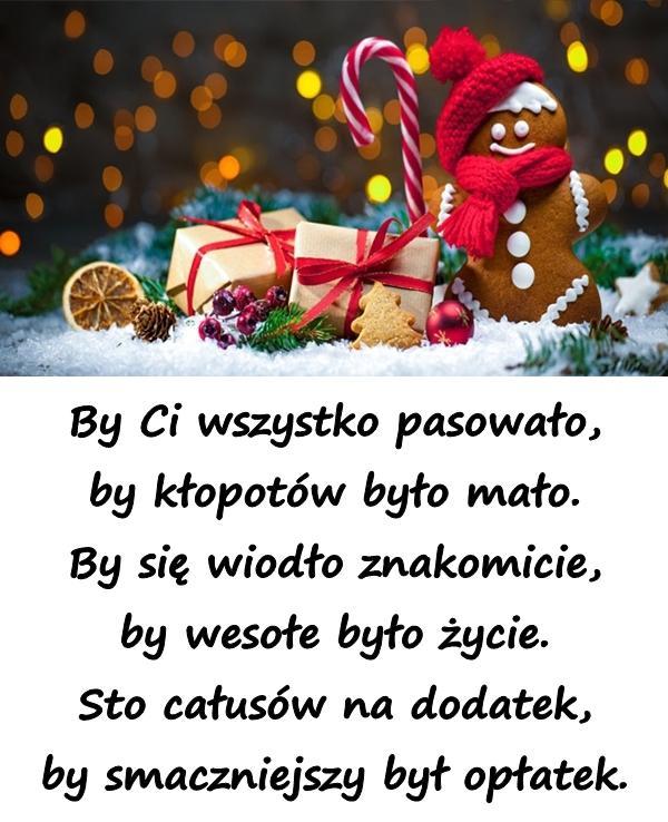 Choinka życzenia Bożonarodzeniowe Wiersz Wierszyki